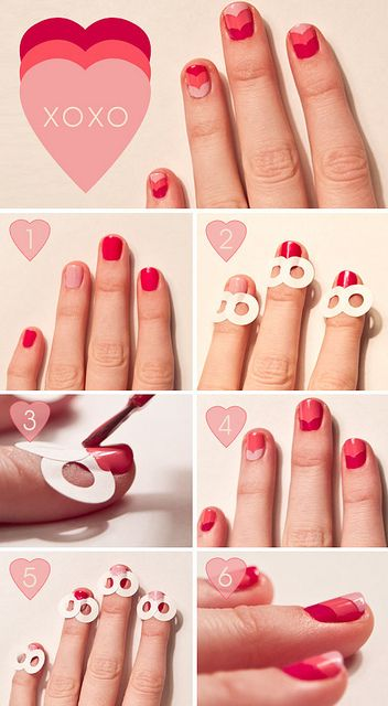 hole reinforcers heart nails