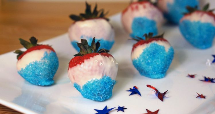 red-white-blue-food