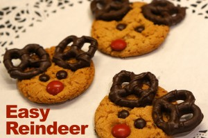 Homemade Reindeer Cookies