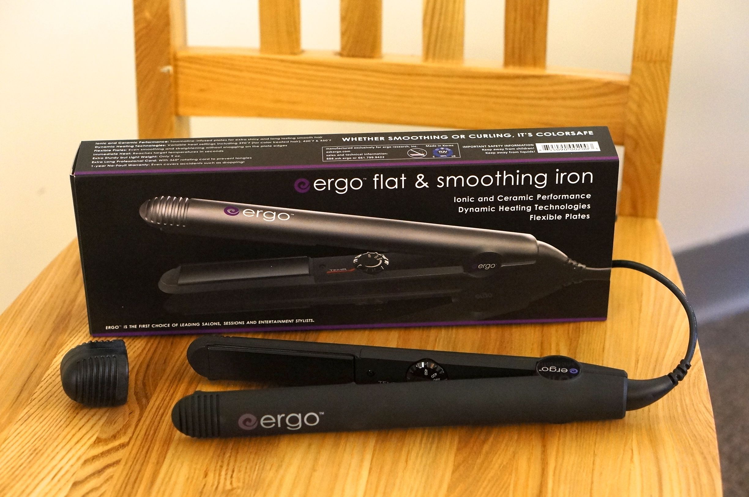 How to Use the Ergo flat iron to curl hair