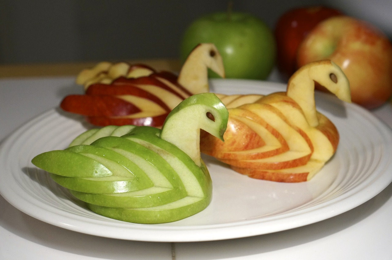 How To Make An Apple Swan We Re Calling Shenanigans