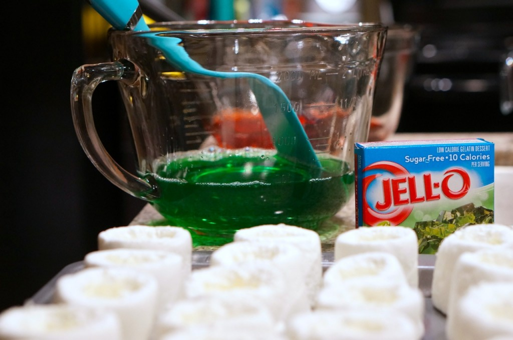 Tequila-jello-shots