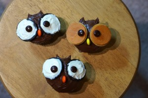 owl cupcakes for kids