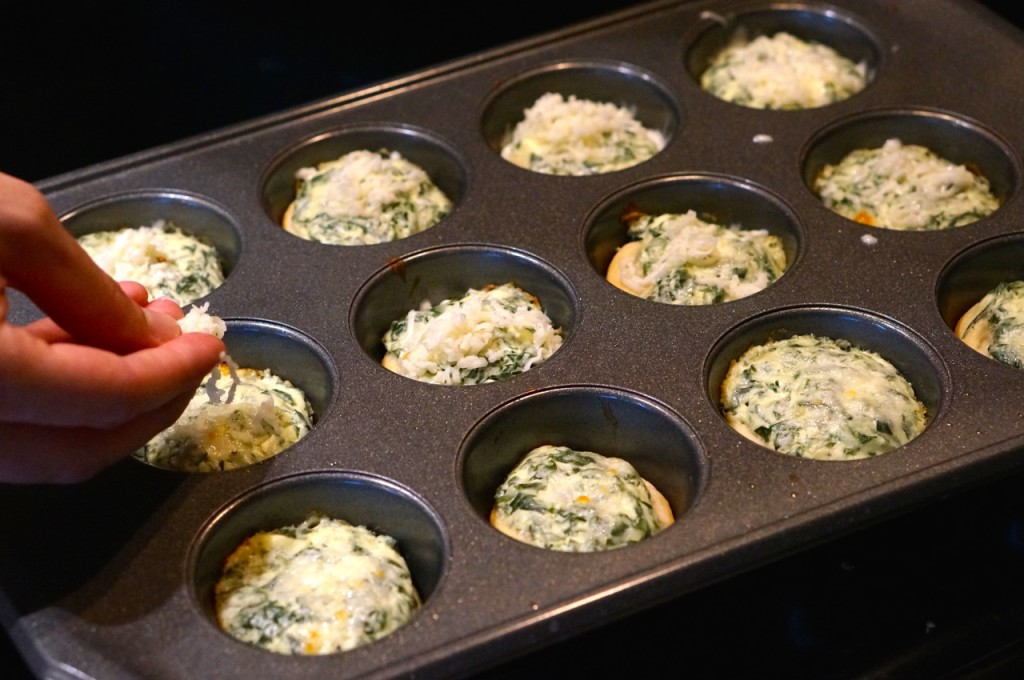 Mini bread bowl recipe in muffin tin