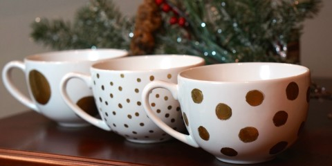 DIY-gold-polka-dot-mug