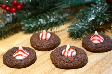 chocolate-peppermint-cake-mix-cookies
