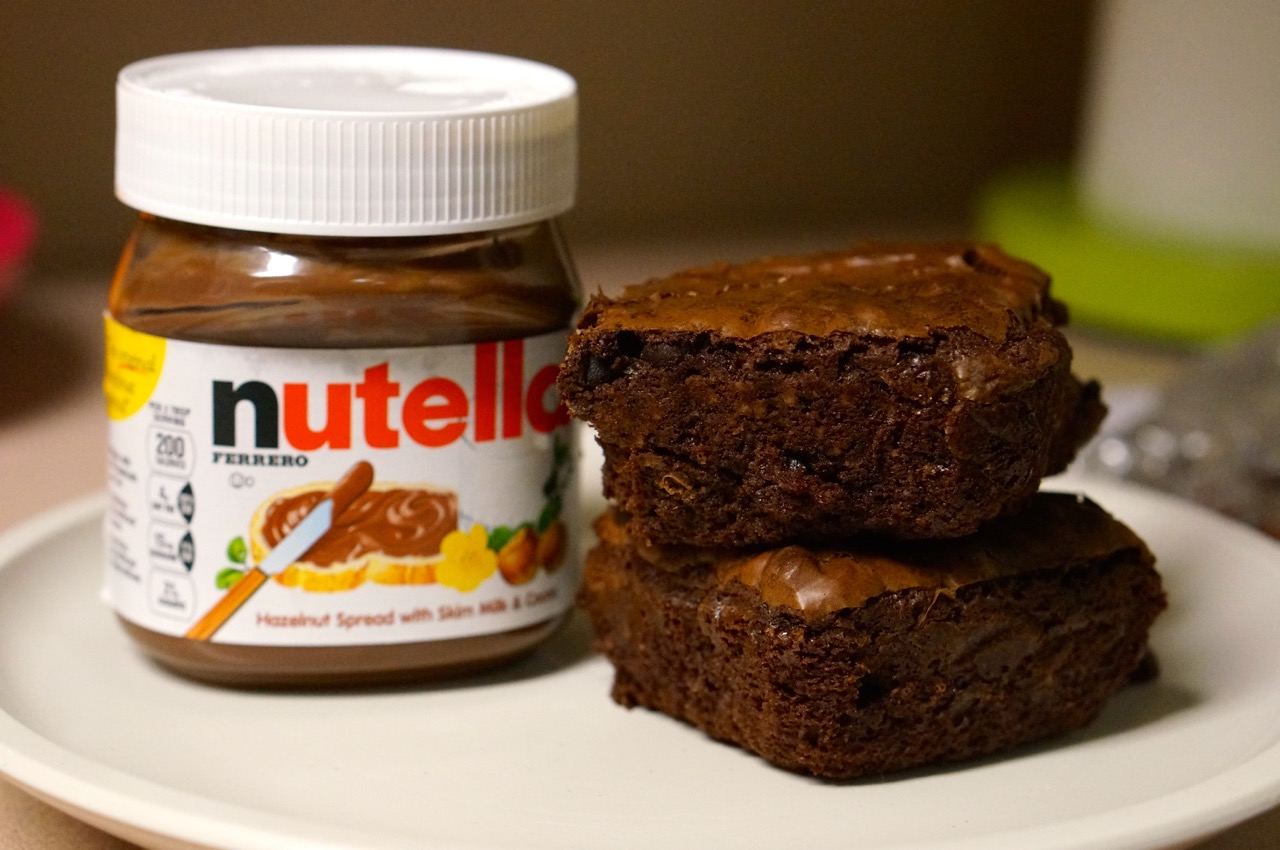 Nutella Brownie Recipe - We're Calling Shenanigans