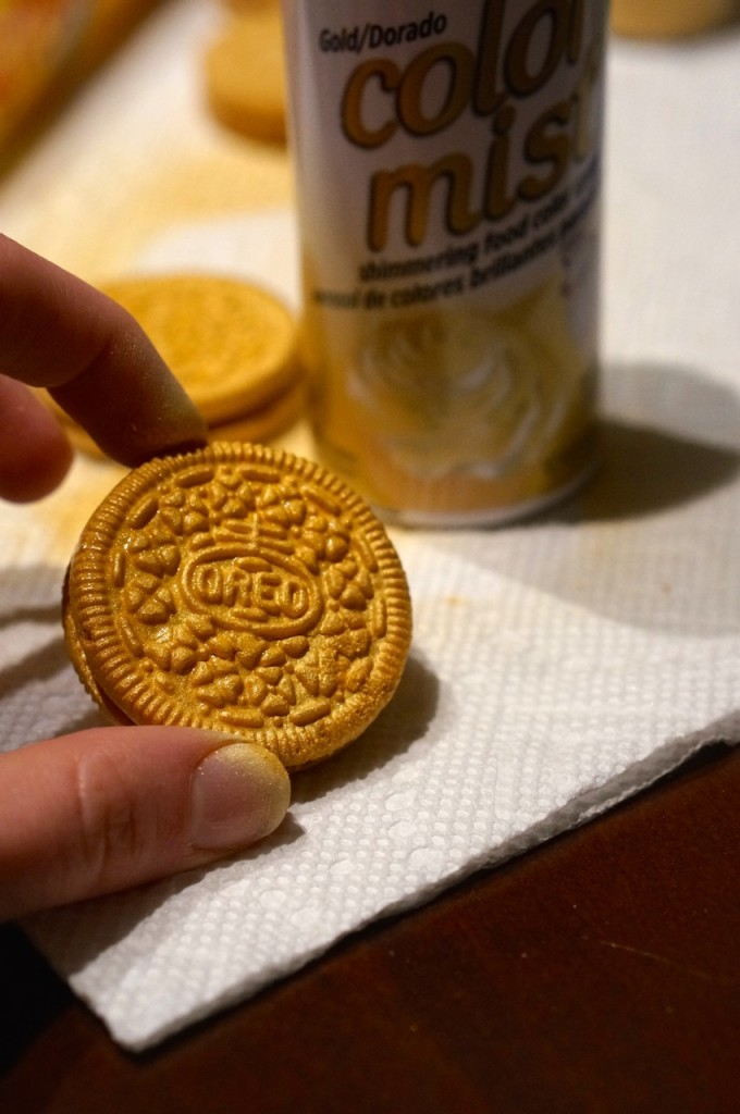 gold-covered-oreos