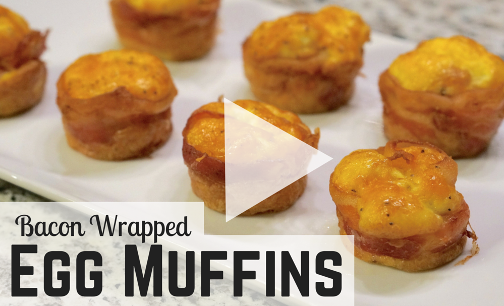 Bacon-Wrapped- egg-muffins