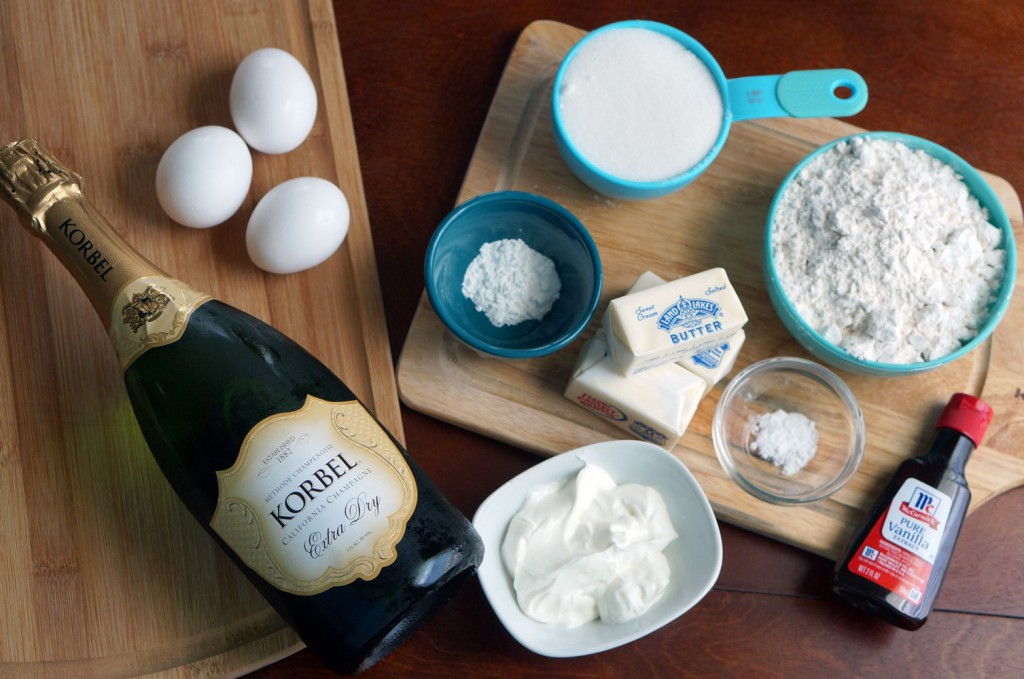 champagne-cupcake-ingredients