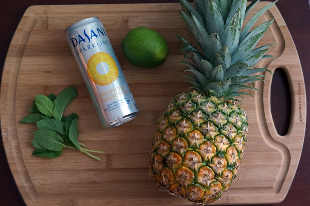 Pineapple-mocktail