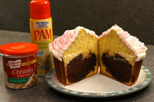 brownie-cake