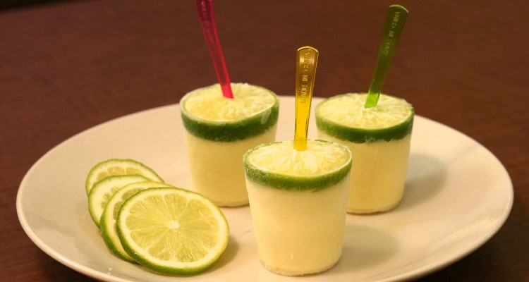 homemade margarita popsicles
