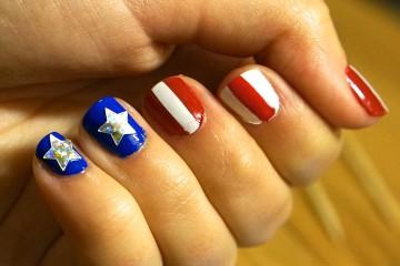 american-flag-nails