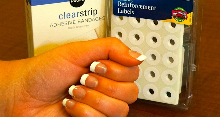 diy-french-manicure
