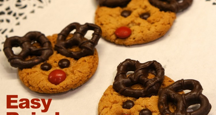 Homemade Reindeer Cookies